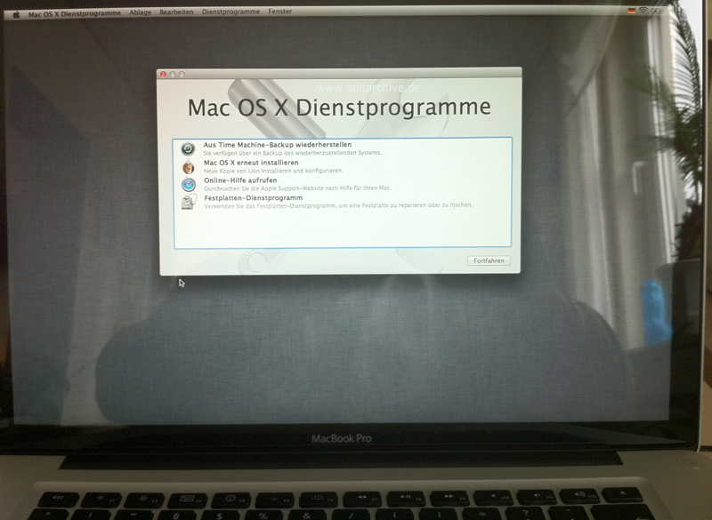 MacOS X Lion Recovery